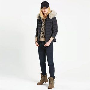 Timberland Short Goose Down Parka Jacket For Women